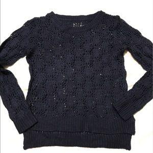 Knit Sweater - Navy